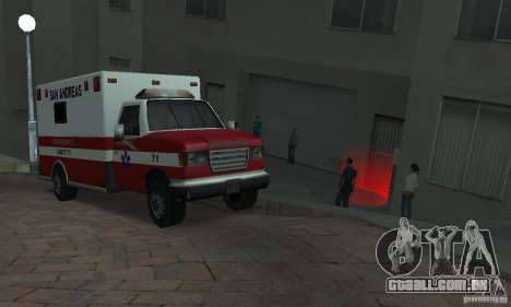Rua lutando v2 para GTA San Andreas