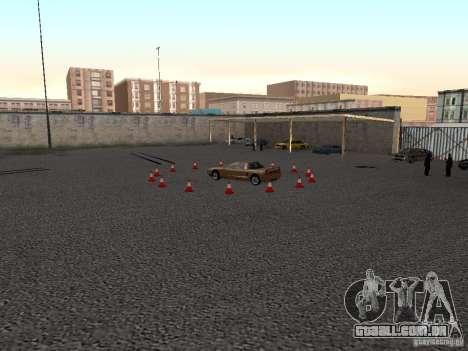 V 1.0 de escola condução realista para GTA San Andreas segunda tela