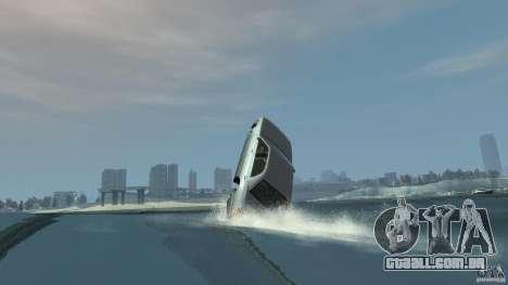 Admiral boat para GTA 4 vista lateral