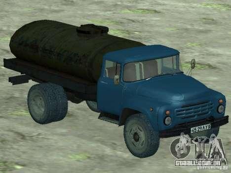 ZIL 130 tanque de leite para GTA San Andreas