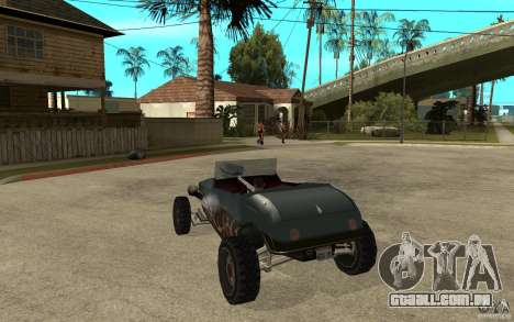 Deuce Brutal Legend para GTA San Andreas traseira esquerda vista