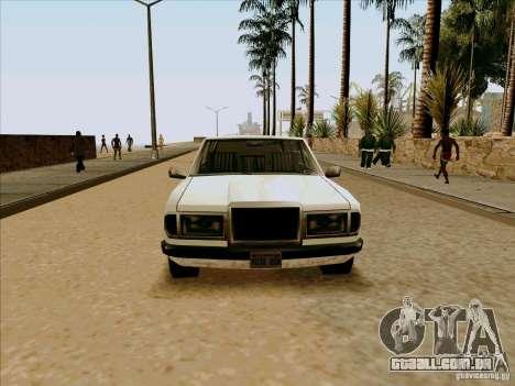 Admiral Limo para GTA San Andreas vista direita