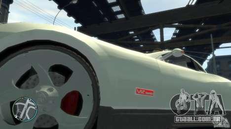 Maybach Exelero para GTA 4 vista de volta