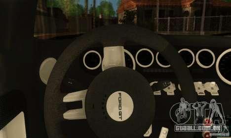 Ford GTX1 Roadster V1.0 para GTA San Andreas vista direita