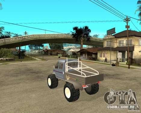 GÁS KeržaK (Swamp Buggy) para GTA San Andreas esquerda vista