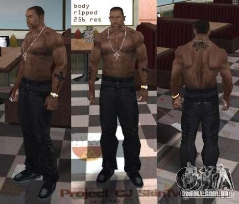 Navetsea CJ Skin Tweak 512 r2 para GTA San Andreas segunda tela