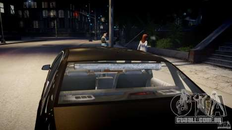 Chevrolet Caprice FBI v.1.0 [ELS] para GTA 4 interior