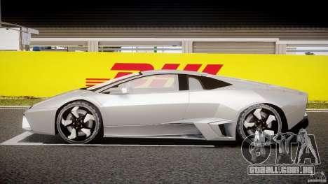 Lamborghini Reventon v2 para GTA 4 vista interior