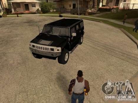 Sistema de alarme para carros para GTA San Andreas terceira tela