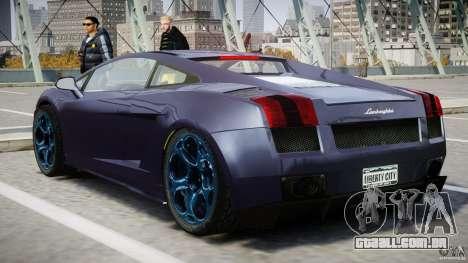 Lamborghini Gallardo Superleggera para GTA 4 interior