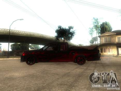 Isuzu D-Max para GTA San Andreas esquerda vista