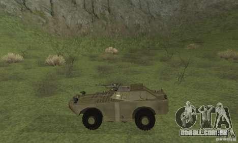 BRDM-1 pele 2 para GTA San Andreas traseira esquerda vista