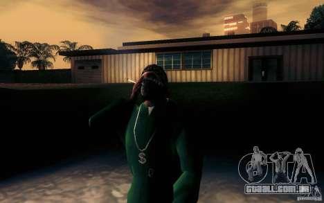 Cigarro realista para GTA San Andreas segunda tela