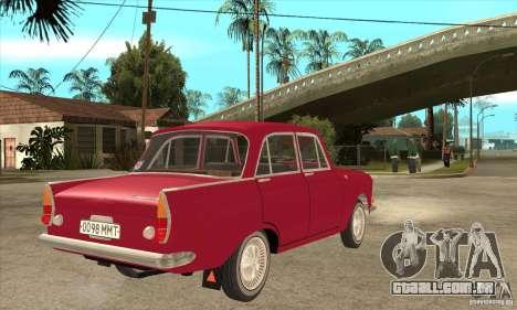 AZLK 408 para GTA San Andreas vista direita