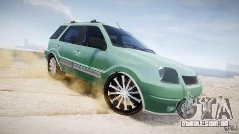 Ford EcoSport para GTA 4 vista inferior