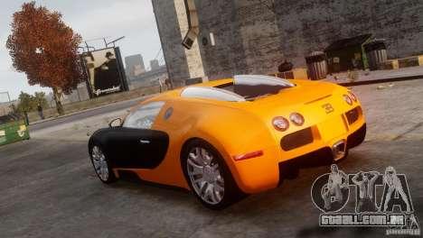 Bugatti Veyron 16.4 para GTA 4 esquerda vista