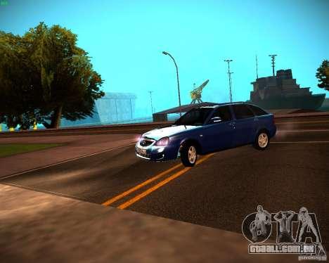 VAZ-2172 Restajl para GTA San Andreas esquerda vista
