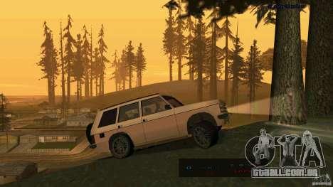 HD Huntley para GTA San Andreas