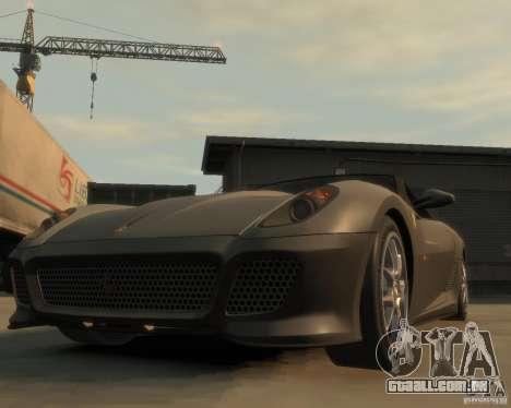 Ferrari 599 GTO para GTA 4 vista de volta
