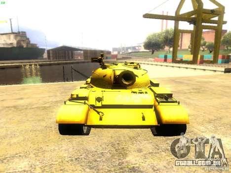 Type 59 v1 para GTA San Andreas vista traseira