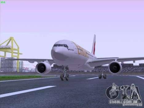 Airbus A330-200 Emirates para GTA San Andreas