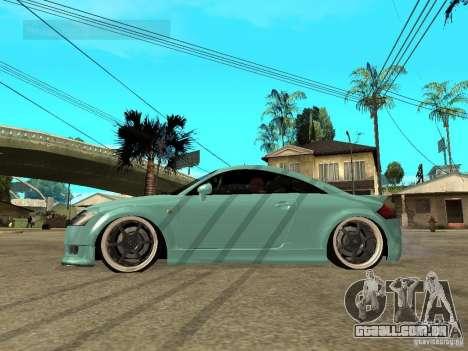 Audi TT para GTA San Andreas