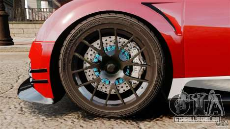 Bugatti Veyron 16.4 Body Kit Final Stock para GTA 4 vista interior