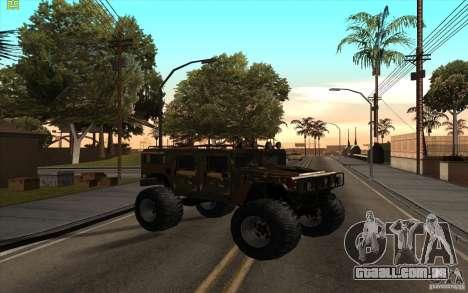 Hummer H1 Humster para GTA San Andreas