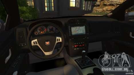 Cadillac CTS-V 2004 para GTA 4 vista de volta