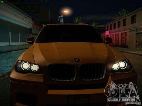 BMW X5M 2011 para o motor de GTA San Andreas