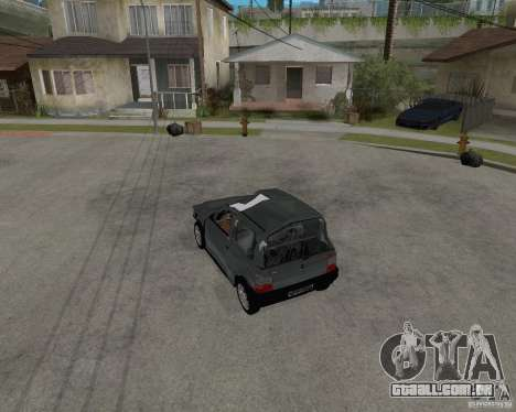 Fiat Mille Fire 1.0 2006 para GTA San Andreas interior