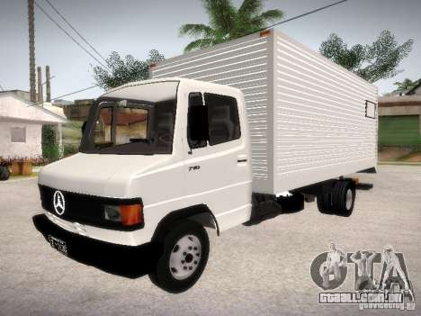Mercedes Benz 710 para vista lateral GTA San Andreas