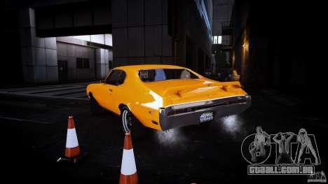 Buick GSX 1970 para GTA 4 traseira esquerda vista