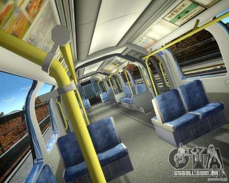 Trem de Londres para GTA 4 segundo screenshot