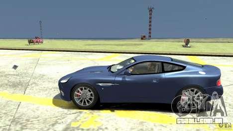 Aston Martin Vanquish S para GTA 4 esquerda vista