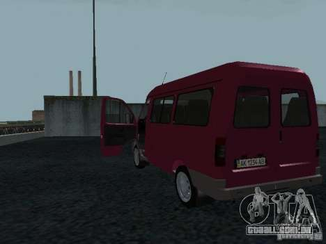 GAZ 2217 Sobol para GTA San Andreas vista direita