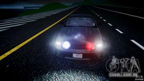 Saleen S281 Extreme Unmarked Police Car - v1.2 para GTA 4 vista inferior