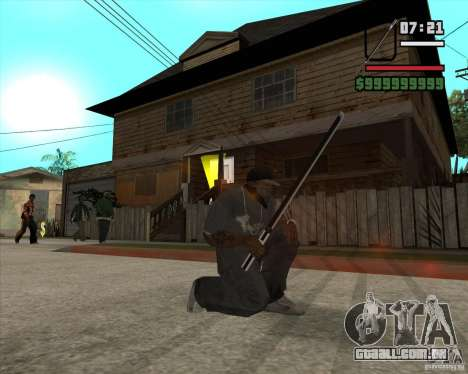 Sasuke sword para GTA San Andreas
