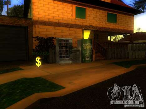 Base da Grove Street para GTA San Andreas twelth tela