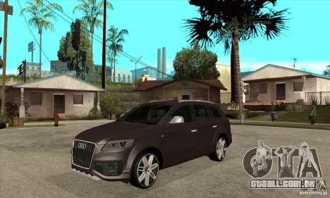 AUDI Q7 V12 V2 para GTA San Andreas