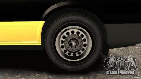 Ford Transit Joen Loka [ELS] para GTA 4 vista superior
