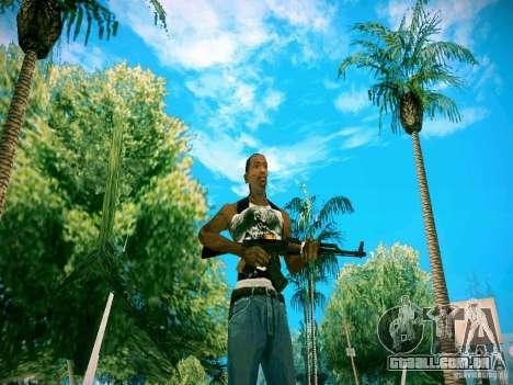Armas Pack HD para GTA San Andreas por diante tela
