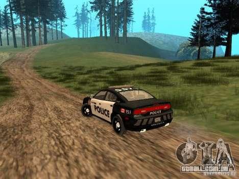 Dodge Charger Canadian Victoria Police 2011 para GTA San Andreas vista direita