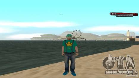 Skin Pack The Rifa Gang HD para GTA San Andreas quinto tela