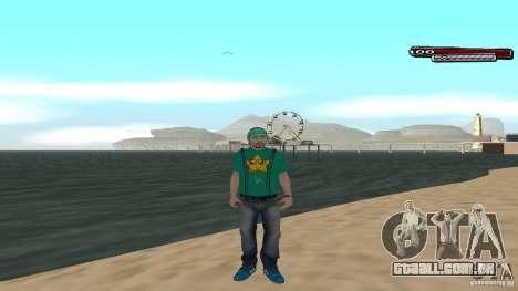 Skin Pack The Rifa Gang HD para GTA San Andreas quinto tela