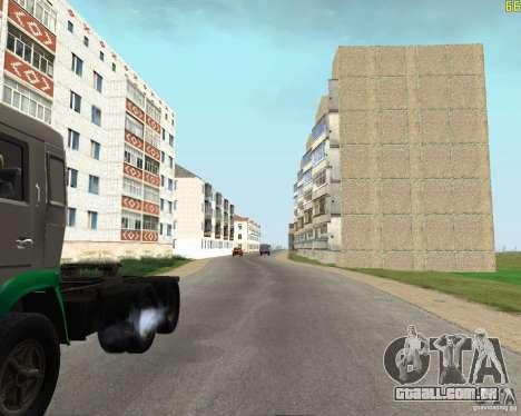 Um Busaevo para o CD para GTA San Andreas quinto tela