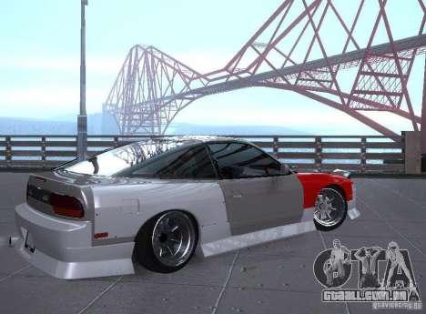 Nissan 240SX Tuned para GTA San Andreas vista direita