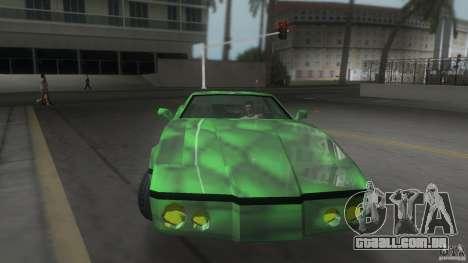 Reptilien banshee para GTA Vice City vista direita