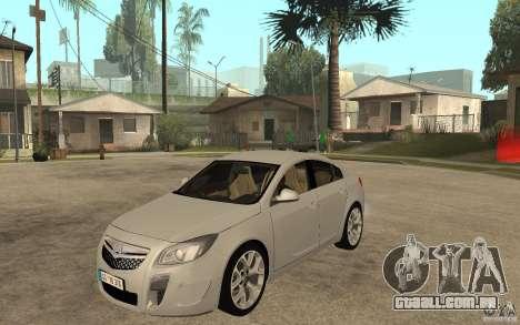 Opel Insignia OPC 2010 para GTA San Andreas
