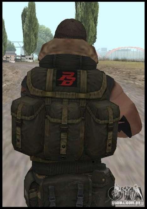 [Point Blank] Terrorist para GTA San Andreas terceira tela